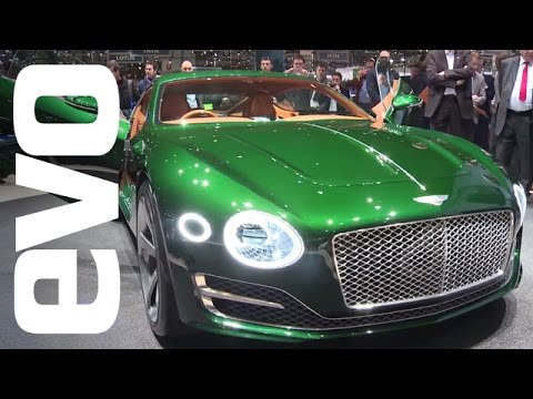 Bentley Exp10 Speed 6 At Geneva 2015 Evo Motor Shows Youtube