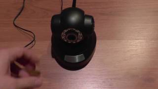 720p HD IP Camera P2P - unboxing, set up, install and configure (on Android and PC)