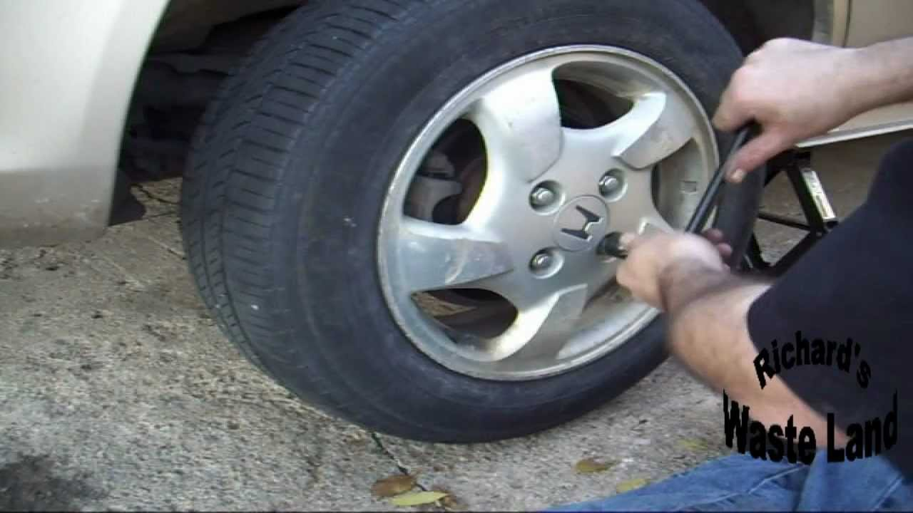 How To Change The Rear Brakes On A Honda Accord Youtube