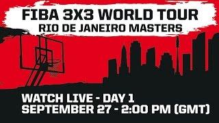 Rio de Janeiro Masters - Day 1 - 2014 FIBA 3x3 World Tour