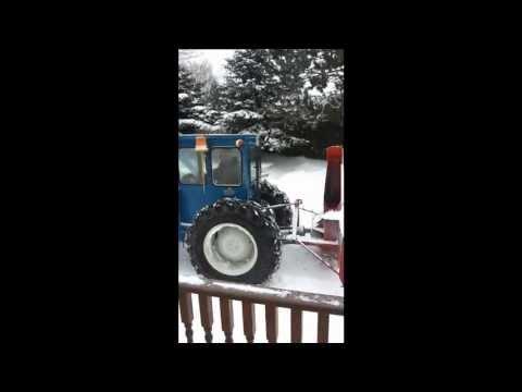 clearing snow in Douglas, New Brunswick.mp4