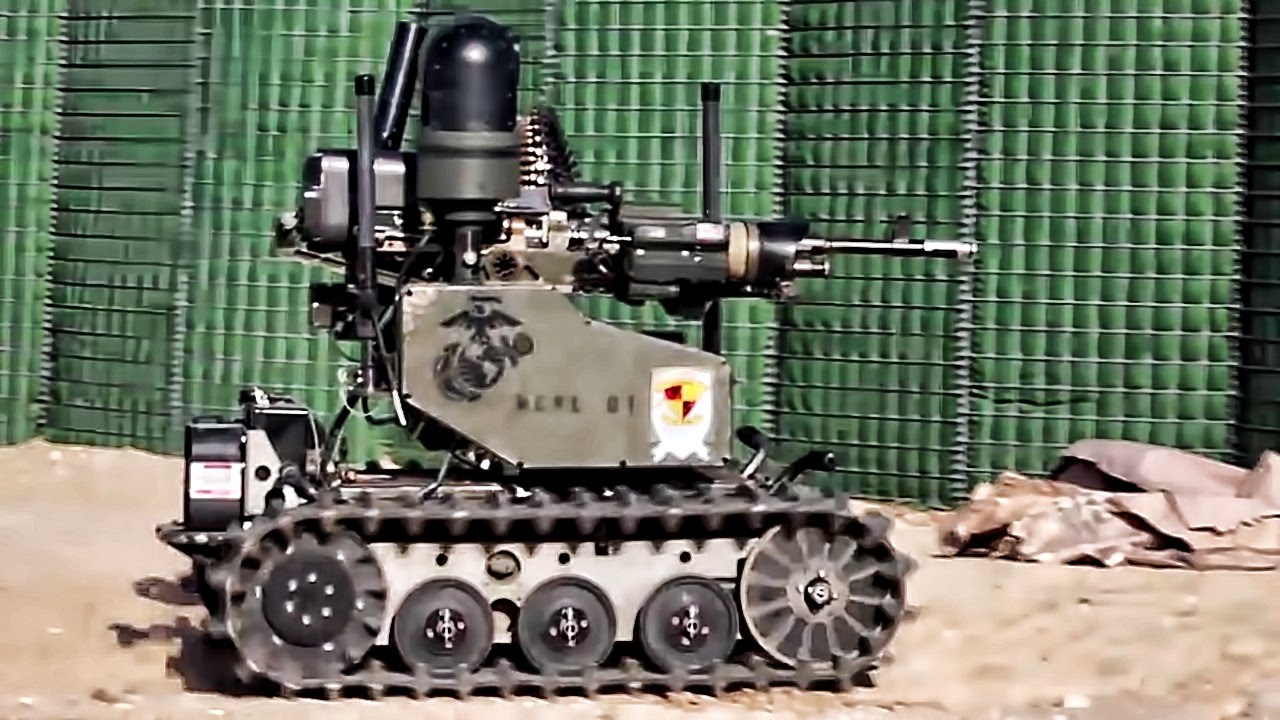 Marines Test New Robot Technology