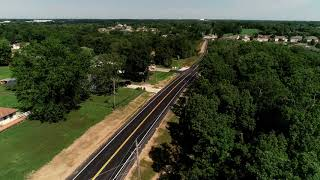 Ballenger Lane Widening Project Complete