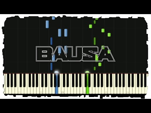 BAUSA - Was Du Liebe Nennst | Piano Tutorial | Synthesia