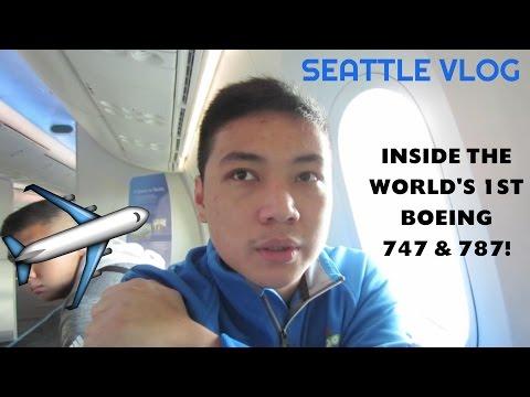 BOEING MUSEUM OF FLIGHT | Seattle Vlog