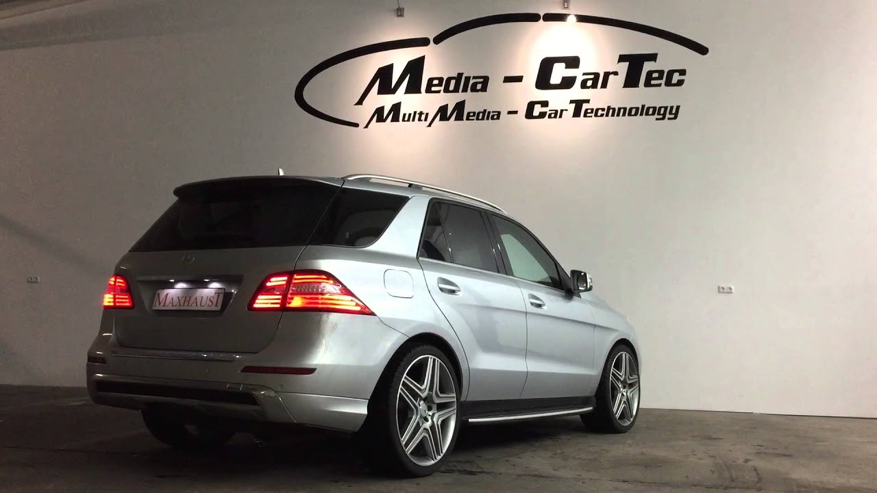 Mercedes ML W166 350CDI and Maxhaust Exhaust Tuning
