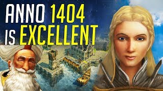 ANNO 1404 is Excellent! Anno 1800 Comparison & Gameplay