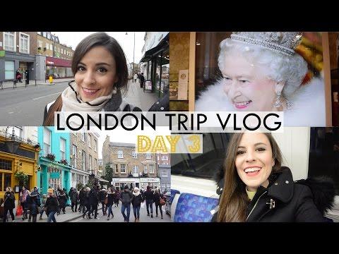 London Trip Vlog Day 3: Notting Hill + Big Ben + Harrods + Cuban Party! [ENGLISH SUBTITLES]