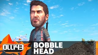 bobblehead gun easter egg just cause 3 funny moments