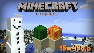 Minecraft - CZ/SK - 1.9 Snapshot [15w49a,b] - Sněhulák a spousta nových věcí