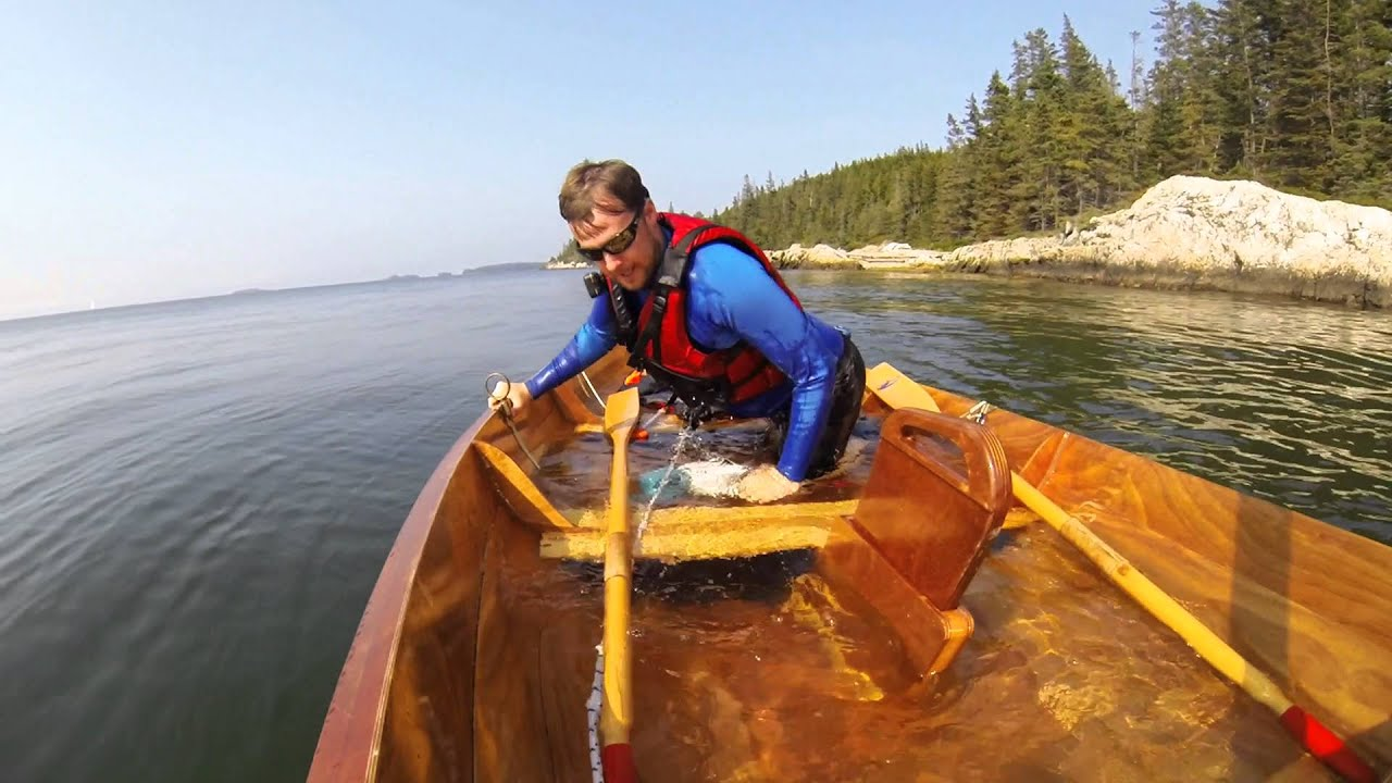 Northeaster Dory Capsize Test on Maine Island Trail (UPDATED)