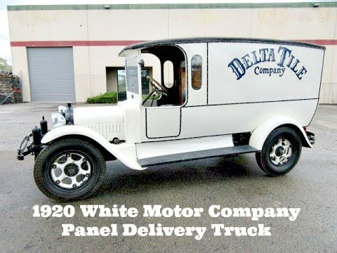 1920 white motor company panel delivery truck on for White motor company trucks