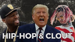 Chase For Clout: 50 Cent, Lil Wayne, Ice Cube, Lil Pump & More Endorse Donald Trump For 2020