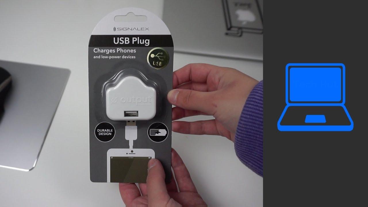 new style 42cab b1acd Signalex USB Plug Charger | Pound Shop Tech
