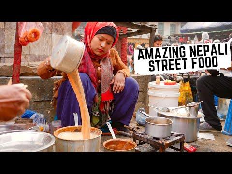 NEPALI STREET FOOD Feast In KATHMANDU, Nepal | Best MOMOS In Kathmandu + Traditional Newari Food