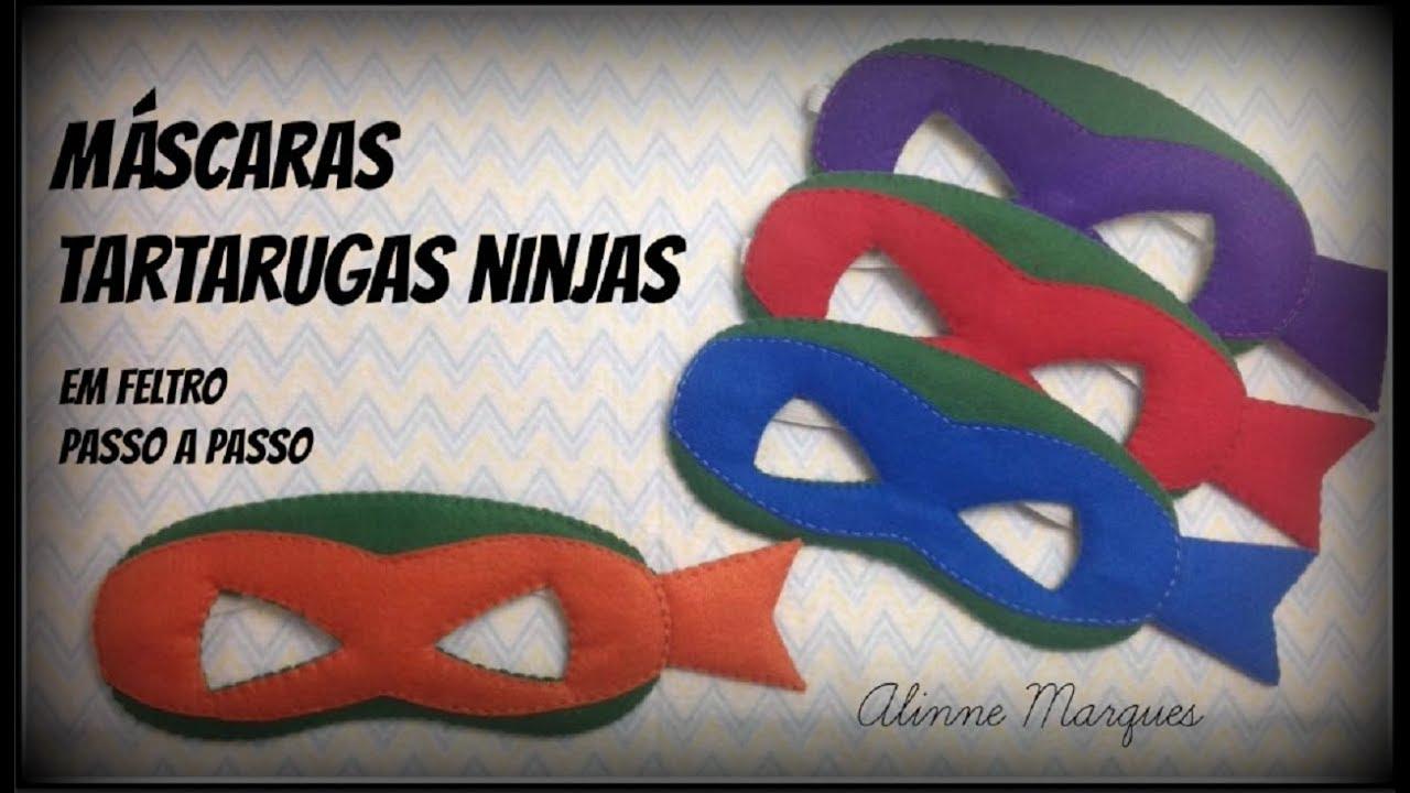 Mascara Das Tartarugas Ninja Pap Youtube