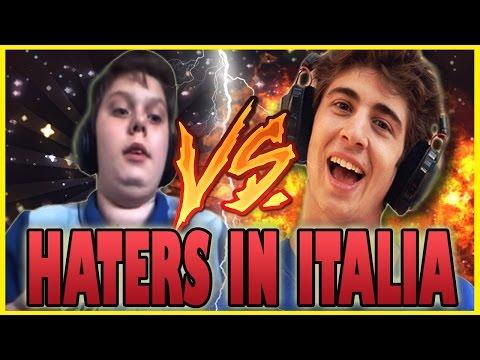HATERS IN ITALIA - BAMBINO TRASH CANTA LA CANZONE DI FAVIJ  [PARODIA]