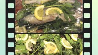 Aromatic Baked Trout