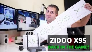zidoo x9s review   back in the game
