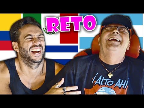 EL RETO DE IMITAR ACENTOS... CON MI PADRE!!