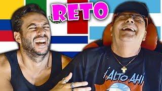 EL RETO DE IMITAR ACENTOS... CON MI PADRE!! thumbnail