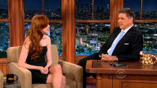 Karen Gillan on the Late Late Show 2012-11-28