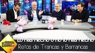 Trancas y Barrancas descubren que Pablo Motos fue investigado por CNI - El Hormiguero 3.0