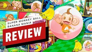 Super Monkey Ball: Banana Mania Review (Video Game Video Review)