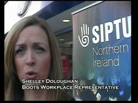 SIPTU Boots Day of Action
