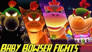 Evolution of Baby Bowser Battles (1995-2019)