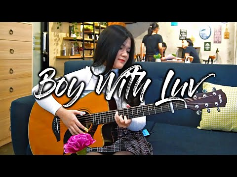 (BTS ft. Halsey) Boy With Luv - Josephine Alexandra | Fingerstyle Guitar Cover