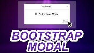 Bootstrap 4 Tutorial: Modal Popups Made Easy