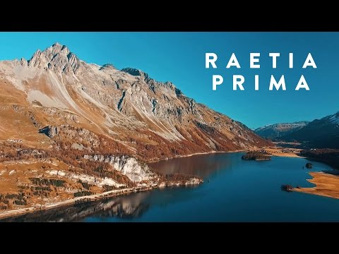 Video preview image for Raetia Prima – high-resolution aerial film of Graubünden