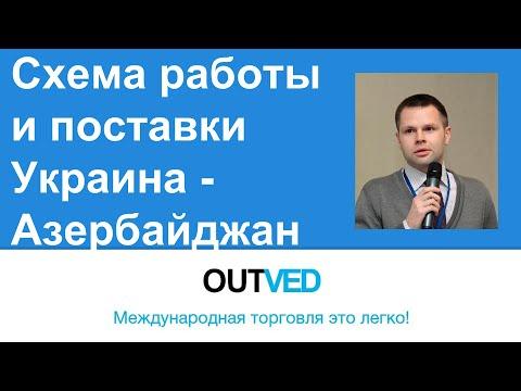 Схема работы и поставки Украина - Азербайджан от OUTVED