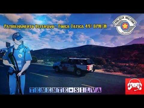 GTA 5 ROLEPLAY - PATRULHAMENTO FORÇA TÁTICA/ROCAM  49M (GRANDE SÃO PAULO RP)