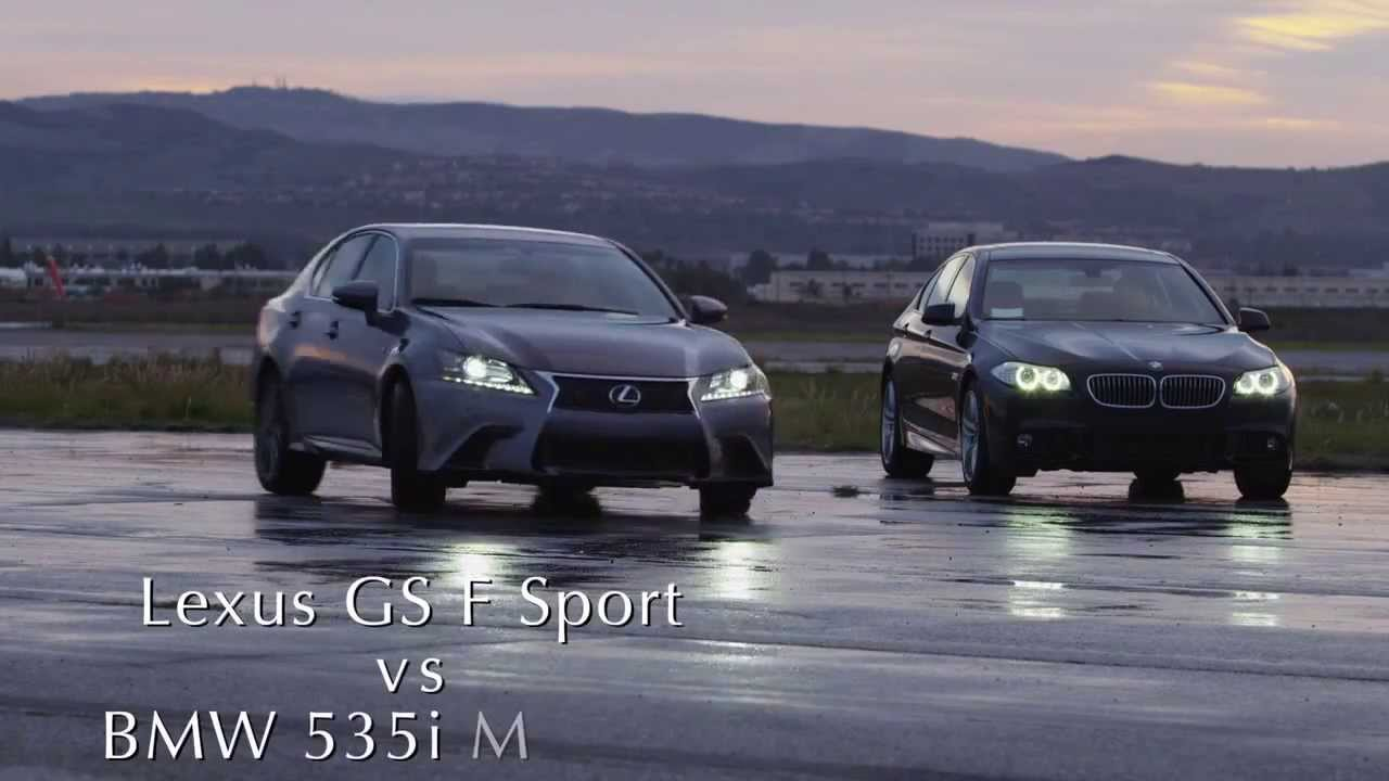 Lexus gs 350 f sport vs bmw 535i