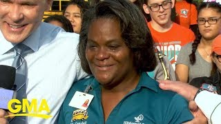 How a school bus driver became an 'extra mom' to her whole community | GMA
