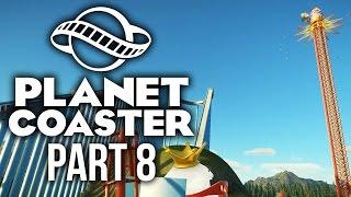 Planet Coaster Gameplay Walkthrough Part 8 - SMALL IMPROVEMENTS