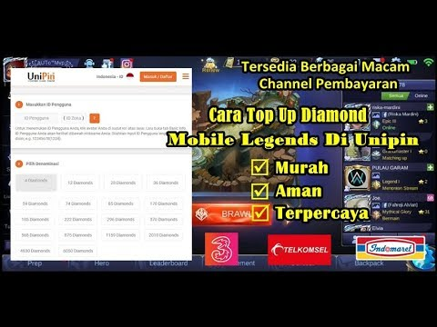 New Way to Top Up Diamond Mobile Legends at Unipin