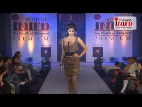 Inifd Pune Kothrud Fashion Show 2012 Youtube