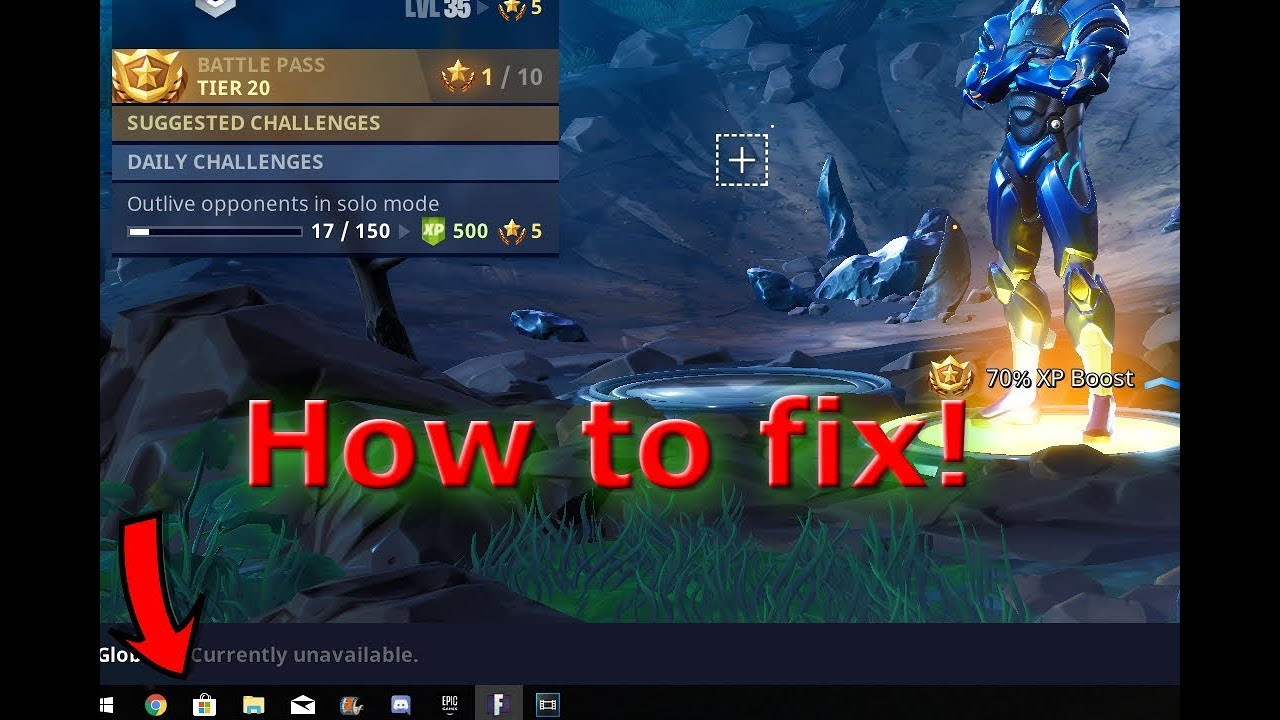 how to fix taskbar showing in fortnite fullscreen - fortnite full screen