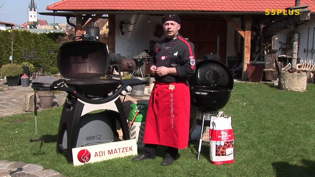 richtig grillen mit adi matzek der gasgrill youtube. Black Bedroom Furniture Sets. Home Design Ideas