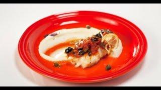 Филе трески под маринадом с пюре   Дежурный по кухне