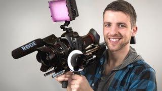 Affordable Film Gear | Slider and Shoulderrig