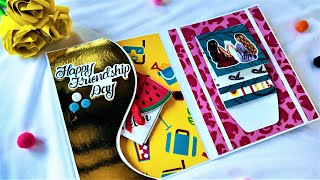 Beautiful Handmade Friendship Day Card Idea | How to make Card for Friendship Day | Tutorial