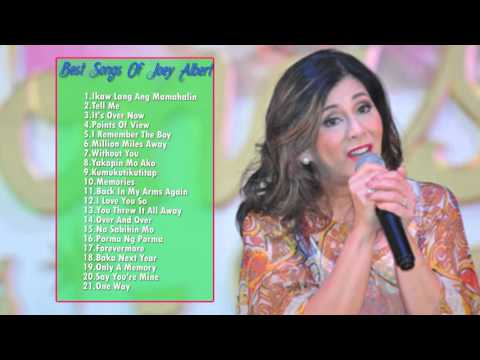 JOEY ALBERT Classic Songs 2016 | JOEY ALBERT Greatest Hits - Filipino Music
