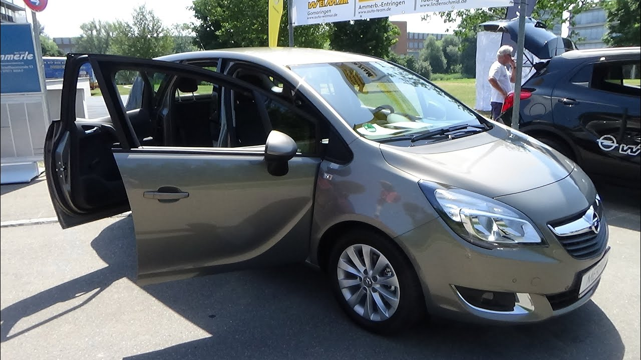 2015 opel meriva b style exterior and interior. Black Bedroom Furniture Sets. Home Design Ideas