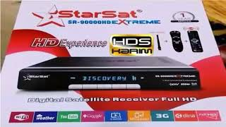 Starsat 90000 Extreme Recover (HEVC) Dual Tuner full intro /Urdu/Hindi