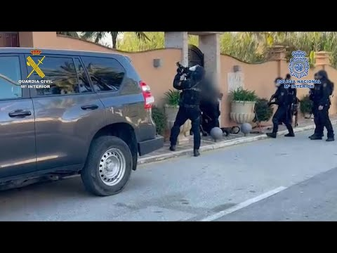 Cae una de las mayores redes de tráfico de hachís en Campo de Gibraltar con 21 detenidos