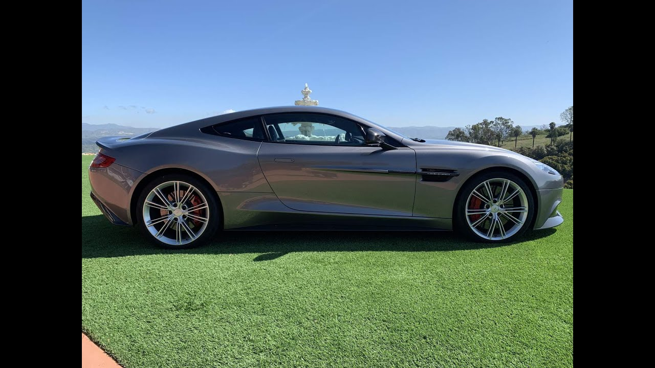 2014 Aston Martin Vanquish Lease Special 1445 Tx Call 805 428 3732 Amazon Leasing Com Youtube